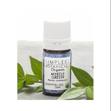 Essential Oil Myrtle Green Organic Simplers Botanicals 5 ml Liquid WLM