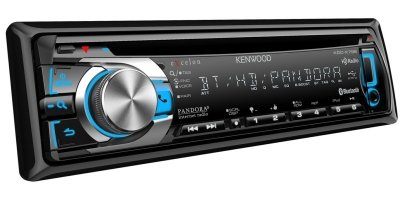Kenwood Kdc-X796 In-Dash Usb/Cd Receiver With Bluetooth/Hd Radio