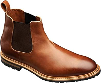 Allen-Edmonds Men's Ashbury,Tan Saddle Leather,US 11.5 E
