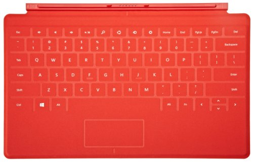 Red Touch Cover for Microsoft Surface (Surface Power Cover compare prices)