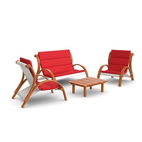 Ampel-24-Lounge-Gartenmbel-Set-Malibu-Gartenstuhl-Gartenbank-mit-Armlehne-hoher-Rckenlehne-Gartentisch-aus-Holz-Auflage-rot