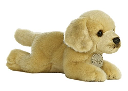 Aurora World Miyoni Golden Lab Plush, 8""