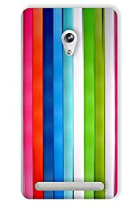 IndiaRangDe Hard Back Cover FOR Asus Zenfone 6 A600CG