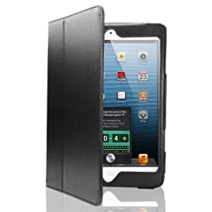 Apple iPAD 2nd 3rd 4th GEN Generation Black Book Style Wallet Folio Case Cover Pu Leather Magnetic Stand View with Built in Magnet for Sleep / Wake Plus Free Screen Protector & Screen Polishing Cloth