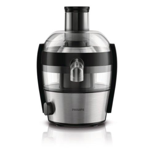Philips HR1836/00 - Exprimidor eléctrico, 500 W, color gris y negro