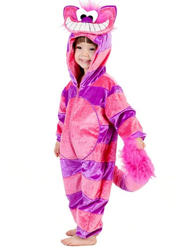 Infant Toddler Chesire Cat Costume Bundle With Accessories ( SIZE I824)