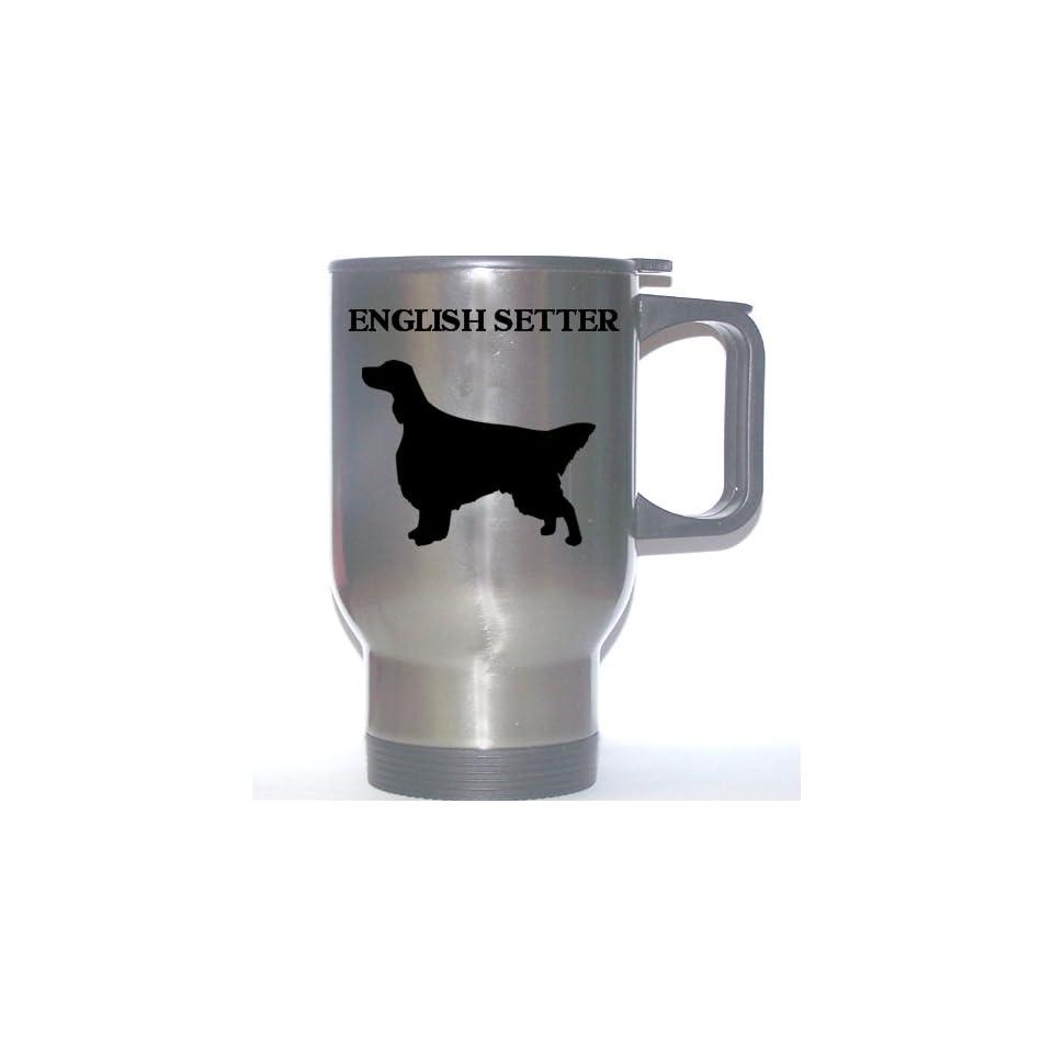 English Setter Dog Stainless Steel Mug