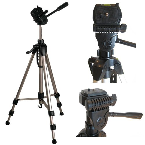 Ex-Pro TR-550A Professional Photographic Camcorder Tripod (530mm - 1450mm / 57