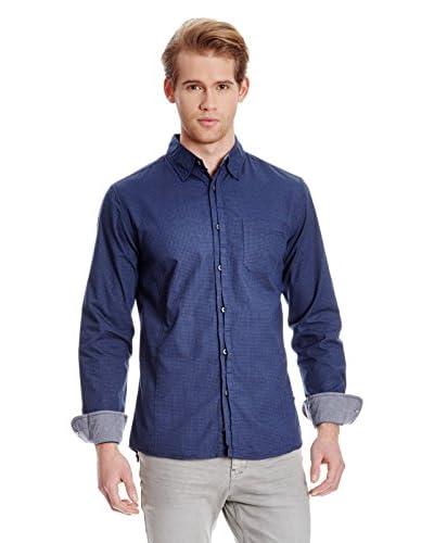 Broadway NYC Camisa Hombre Devon Azul