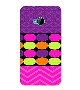 PrintVisa Chevron & Dots Pattern 3D Hard Polycarbonate Designer Back Case Cover for HTC One M7