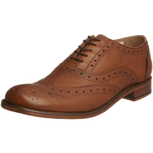 Ben Sherman Men's Qewy Brogue Tan Lace Up 4602240 11 UK