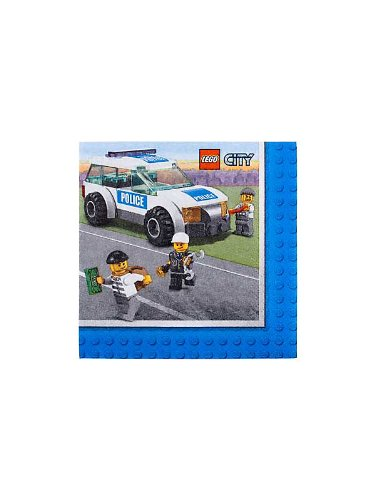 Amscan BB021003 Lego Getr-nke Servietten – 16 Pack günstig kaufen
