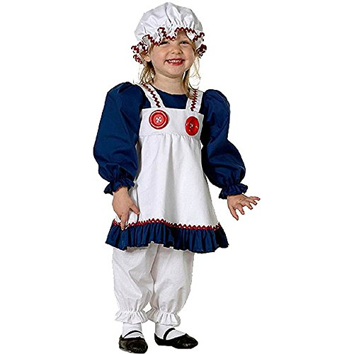 Rag Doll Toddler Costume - Large
