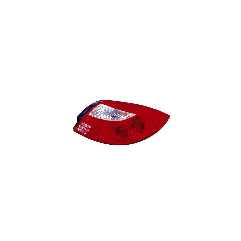 Kia Rio Passenger Side Replacement Tail Light