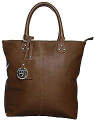 Phive Rivers Womens Tote Bag (Tan) (PR957)