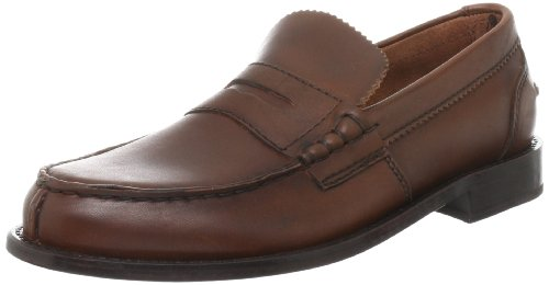 Clarks Beary Loafer 20349842, Mocassini uomo, Marrone (Braun (Mid Brown Lea)), 41