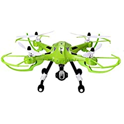 Coocheer JJRC H26W Headless Quadcopter with FPV WIFI Camera One Key Return 4CH 2.4G 6-Axis Gyro Green