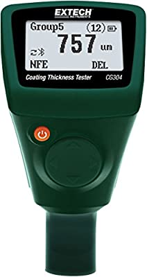 Extech Instruments CG304 Coating Thickness Tester with Bluetooth
