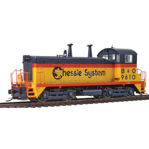 Walthers PROTO 2000 HO Scale Diesel EMD SW9/1200 Powered With Sound And DCC Chessie System/Baltimore And Ohio #9610