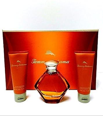 Tommy Bahama for Him Gift Set: 3.4 Oz Eau De Cologne Spray + 2.5 Oz After Shave Balm + 2.5 Oz Hair & Body Wash