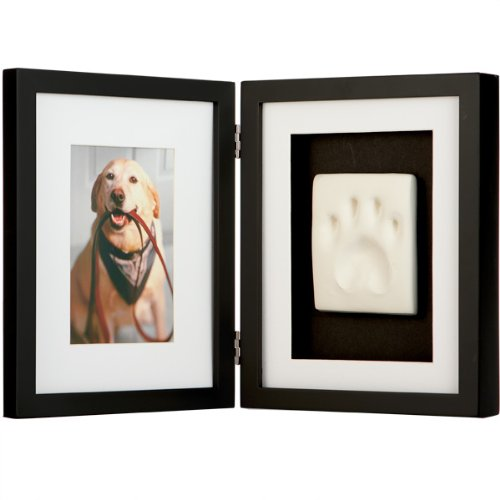 Pawprints keepsake kit Ebony-Black table-top - 4x6