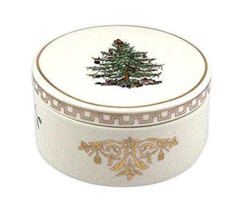 Spode Christmas Tree Gold Round