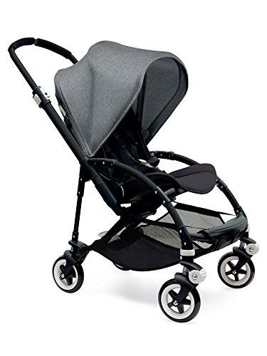 Bugaboo Bee3 Stroller - Grey Melange - Black - Black