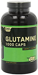 Optimum Nutrition Glutamine 1000mg, 480 Capsules
