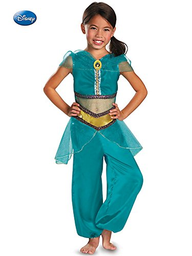 Princess Jasmine Sparkle Classic Kids Costume