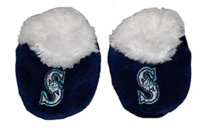 SEATTLE MARINERS BABY/Infant MLB Slippers