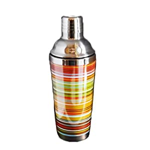 True Tools, Striped Cocktail Shaker 16oz.