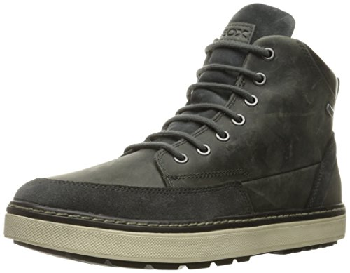 Geox U Mattias B Abx B, Sneakers alte Uomo, Grigio (STONEC9007), 42 EU