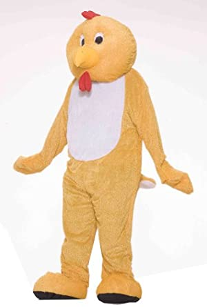 Forum Deluxe Plush Chicken Mascot Costume by Forum Novelties