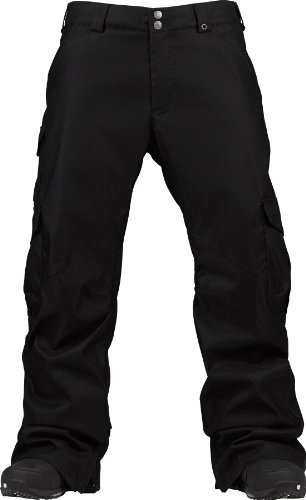 Burton Herren Snowboardhose MB Cargo Tall Pants, True Black, S, 10188100002