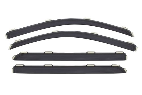Auto Ventshade 194536 In-Channel Ventvisor  Window Deflector, 4 Piece for 2014-15 Chevy Silverado & GMC Sierra 1500/2500/3500 Crew Cab Pickups ONLY (Cool Pickup Accessories compare prices)