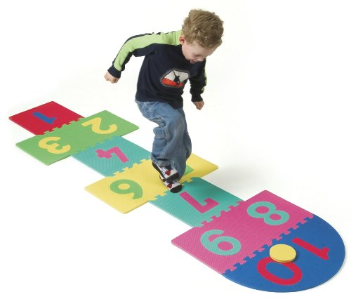 Cheap Chenille Kraft WonderFoam® Hopscotch Mat (B00009KX2T)