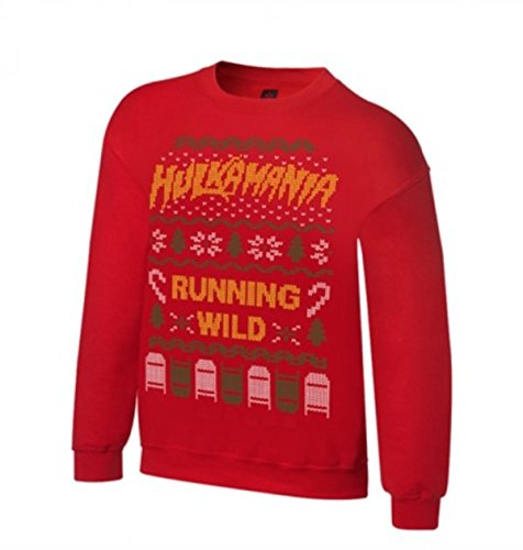 WWE Hulk Hogan Small Ugly Christmas Sweater