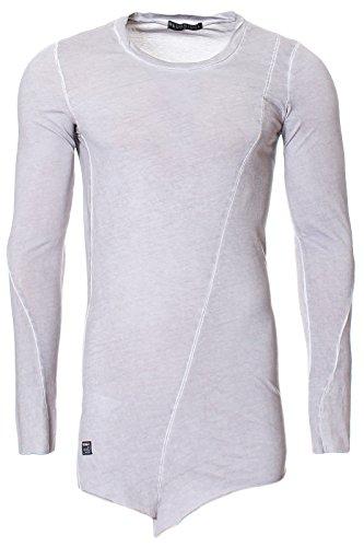 Herren Redbridge Pullover im Longshirt Style mit Schräg-Cut am Bund Swagshirt thumbnail