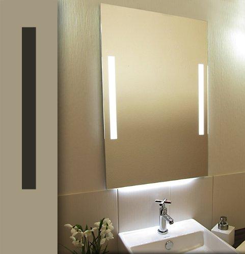 Specchio illuminato a led bricode s d specchio bagno - Specchi ingranditori illuminati ...