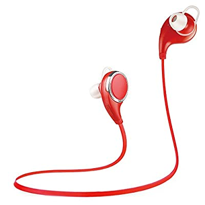 Simptech SQ8 5Colors Bluetooth 4.1 Sport Headset Wireless Headphones with Microphone for Sport Running&Gym/Exercise Noise Cancelling Earbud Earphone for Cell Phone