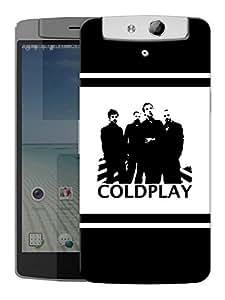 "Humor Gang Coldplay Upfront Printed Designer Mobile Back Cover For ""Oppo N1"" (3D, Matte, Premium Quality Snap On Case)"