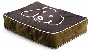 Crypton William Wegman Doodle Dog Pet Bed, Medium, Koala
