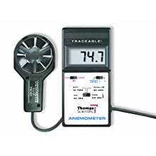 Thomas Digital Anemometer, with Thermometer