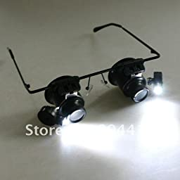 20X Magnifier Magnifying Eye Glasses Loupe Lens Jeweler Watch