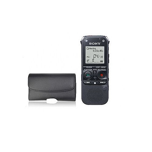 Sony Icd-Ax412 2Gb Stereo Digital Voice Recorder With Expandable Memory Capabilities And Premium Carrying Case