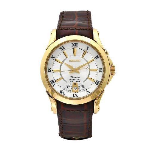 Seiko SNQ118P1 Mens Premier Perpetual Calendar Watch
