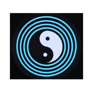 LED Sound Activated Patch - Yin Yang - 1