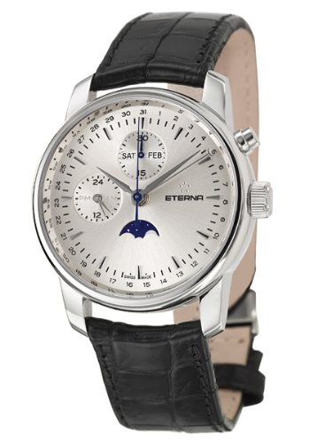 Eterna Men's Soleure Moonphase Chronograph Watch 8340-41-10-1175