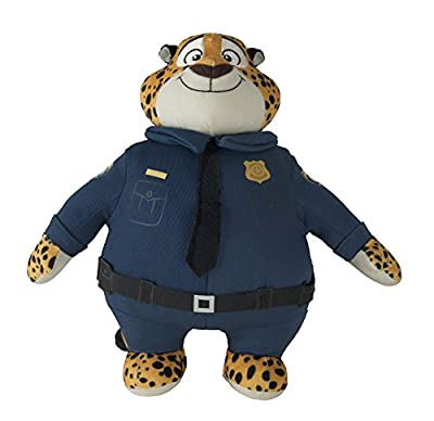Zootopia Large Plush Clawhauser by Tomy International (RC2)