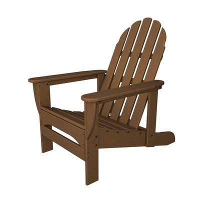 POLYWOOD Adirondack Reclining Chair, Teak picture